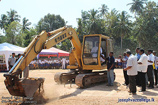 Commencement Of Construction Of Indoor Stadium
