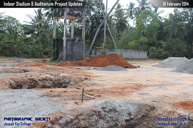 Commencement Of Construction Of Indoor Stadium Updates